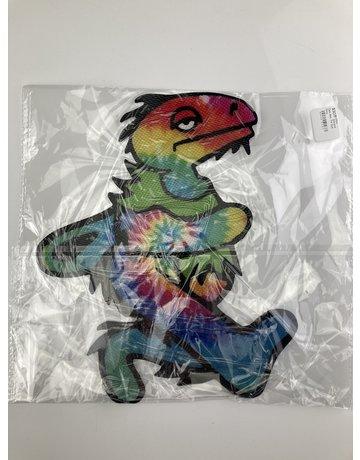 Elbo Silicone Dab Mat: Tie Dye Dino