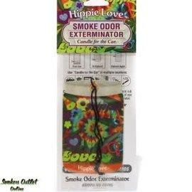 Smoke Odor Exterminator HIP-CARFRESH: HIPPIE LOVE - CAR FRESHENER