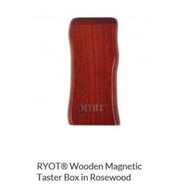 RYOT MPB-RW: ROSEWOOD - MAGNETIC POKER BOX - 3IN DUGOUT