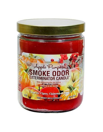 Smoke Odor Exterminator APPLEPUMP-CANDLE: APPLE PUMPKIN CANDLE