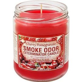 Smoke Odor Exterminator CHERRYPOM-CANDLE: CHERRY POMEGRANATE CANDLE