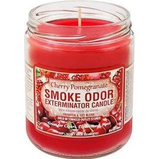 Smoke Odor Exterminator Cherry Pomegranate - Smoke Odor Eliminator Candle