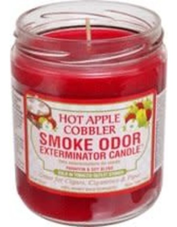 Smoke Odor Exterminator HOTAPPLE-CANDLE: HOT APPLE COBBLER CANDLE