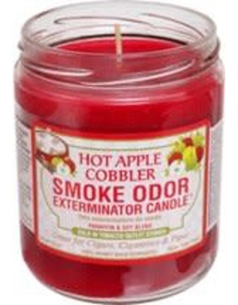 Smoke Odor Exterminator Hot Apple Cobbler - Smoke Odor Eliminator Candle