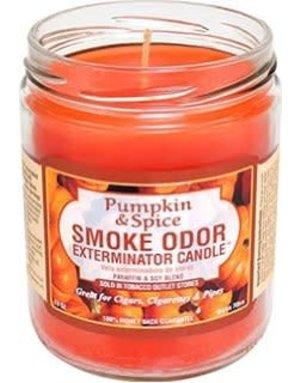 Smoke Odor Exterminator PUMPKIN-CANDLE: PUMPKIN & SPICE CANDLE