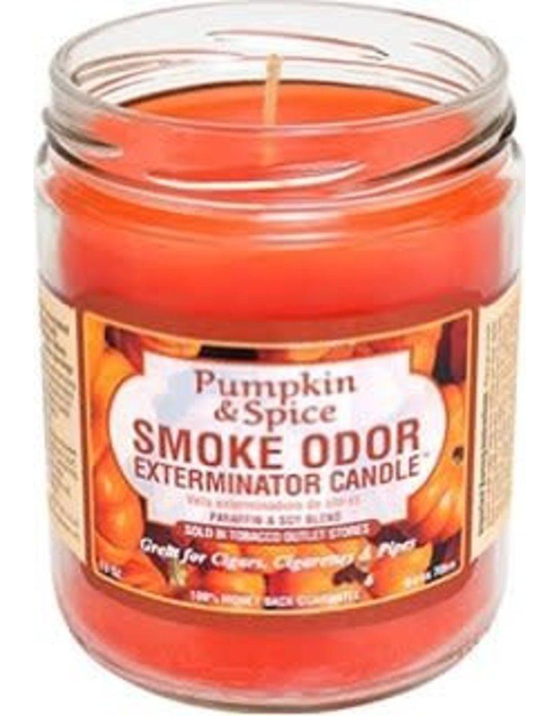 Smoke Odor Exterminator Pumpkin & Spice - Smoke Odor Eliminator Candle