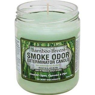 Smoke Odor Exterminator Bamboo Breeze - Smoke Odor Eliminator Candle