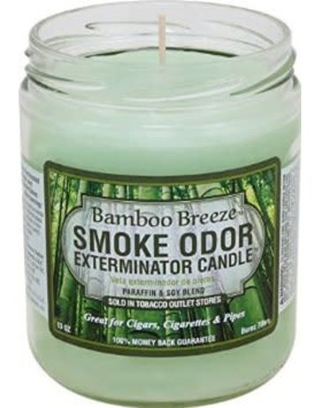 Smoke Odor Exterminator BAMBOO-CANDLE: BAMBOO BREEZE CANDLE