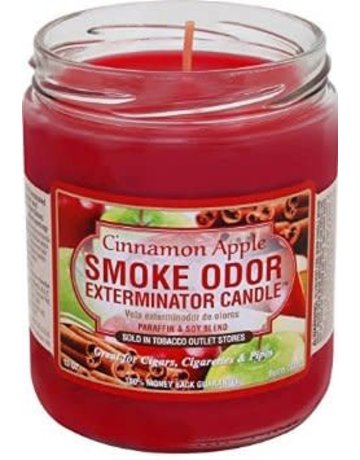 Smoke Odor Exterminator CINAPPLE-CANDLE: CINNAMON APPLE CANDLE