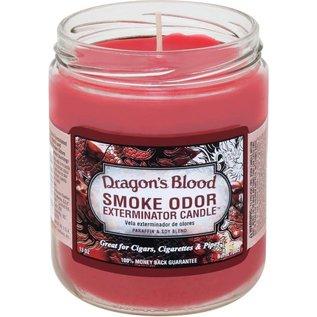 Smoke Odor Exterminator Dragon's Blood - Smoke Odor Eliminator Candle