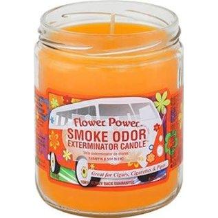 Smoke Odor Exterminator Flower Power - Smoke Odor Eliminator Candle