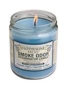 Smoke Odor Exterminator Clothesline Fresh - Smoke Odor Eliminator Candle