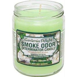 Smoke Odor Exterminator GARDENIA-CANDLE: GARDENIA DELIGHT CANDLE