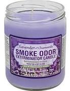 Smoke Odor Exterminator Lavender & Chamomile - Smoke Odor Eliminator Candle