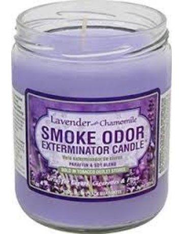 Smoke Odor Exterminator LAVENDER-CANDLE: LAVENDER & CHAMOMILE CANDLE