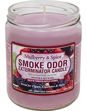 Smoke Odor Exterminator MULBERRY-CANDLE: MULBERRY & SPICE CANDLE