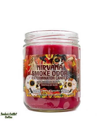 Smoke Odor Exterminator NIRVANA-CANDLE: NIRVANA CANDLE