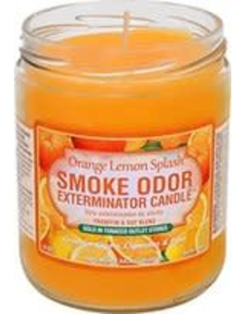 Smoke Odor Exterminator Orange Lemon Splash - Smoke Odor Eliminator Candle