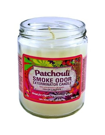 Smoke Odor Exterminator PAT-CANDLE: PATCHOULI SMOKE ODOR CANDLE