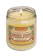 Smoke Odor Exterminator Pineapple Coconut - Smoke Odor Eliminator Candle