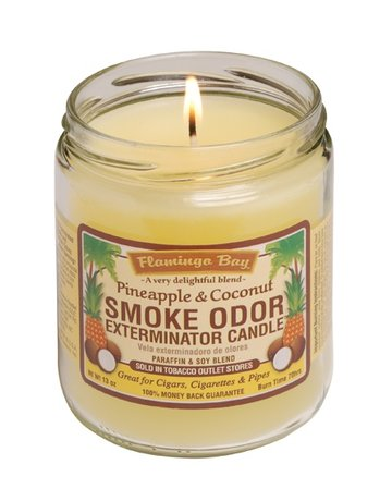 Smoke Odor Exterminator PINECOCO-CANDLE: PINEAPPLE COCONUT CANDLE