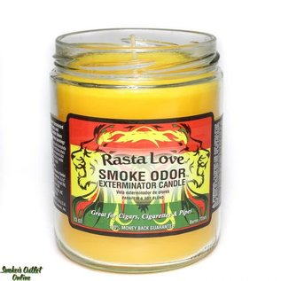 Smoke Odor Exterminator Rasta Love - Smoke Odor Eliminator Candle