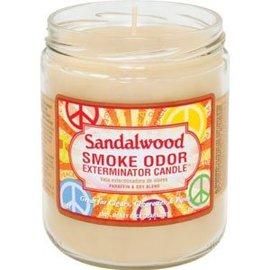 Smoke Odor Exterminator SANDLEWOOD-CANDLE: SANDLEWOOD CANDLE