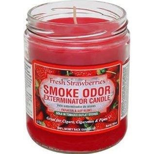 Smoke Odor Exterminator Fresh Strawberries Candle - Smoke Odor Eliminator Candle