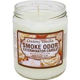 Smoke Odor Exterminator VAN-CANDLE: CREAMY VANILLA SMOKE ODOR CANDLE