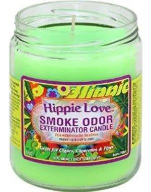 Smoke Odor Exterminator HIP-CANDLE: HIPPIE LOVE SMOKE ODOR CANDLE
