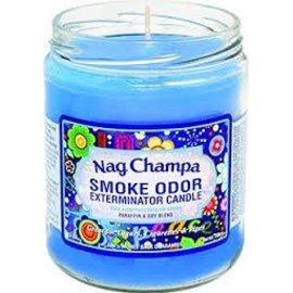 Smoke Odor Exterminator NAG-CANDLE: NAG CHAMPA SMOKE ODOR CANDLE