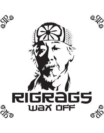 Skilletools SKT-RRMIY: WHITE MIYAGI RIG RAG BY SKILLETOOLS