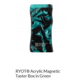 RYOT MPB-AC-GRN: DUGOUT ACRYLIC GREEN MAGNET+PK