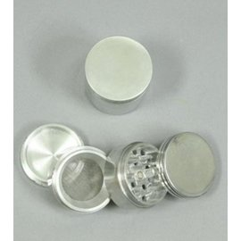 GR106: 4PC 2IN (50MM) BASIC METAL GRINDER/SIFTER W/ MAGNET - GENERIC BRAND