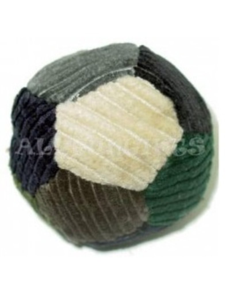 12 Panel Cord Patchwork Hacky Sack