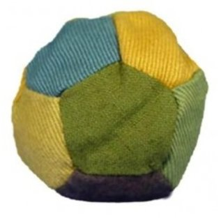 12 Panel Hemp Patchwork Hacky Sack