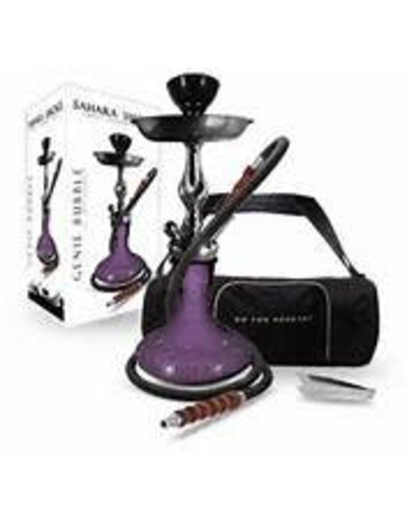 Sahara Smoke Genie Bubble 15inch Purple Hookah from Sahara Smoke