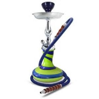 Sahara Smoke Genie Vibe Green 15 inch Hookah from Sahara Smoke