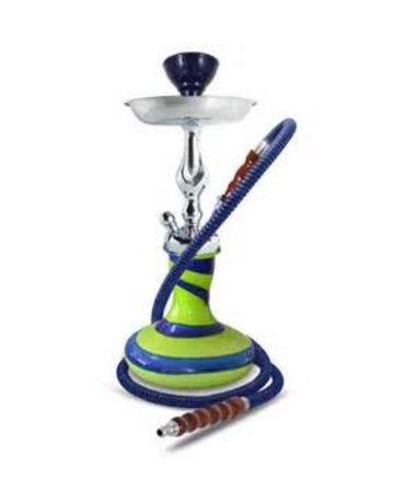 Sahara Smoke G41G: GENIE VIBE 15 HOOKAH GREEN