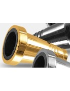 Sahara Smoke Gold Metal Hose Adaptor For Sahara Smoke Hookah