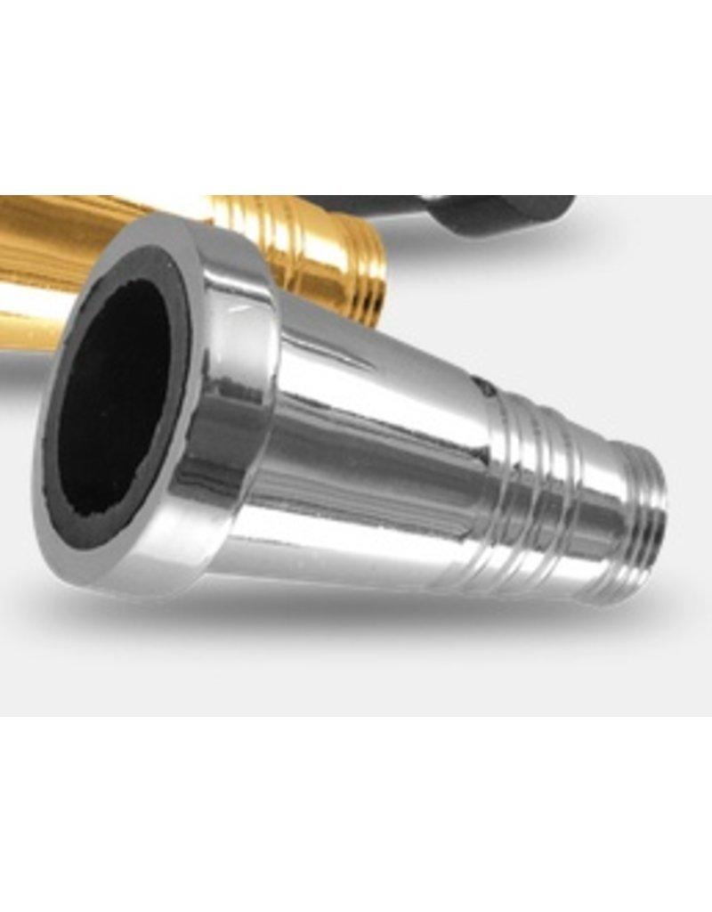 Sahara Smoke Silver Metal Hose Adaptor For Sahara Smoke Hookah