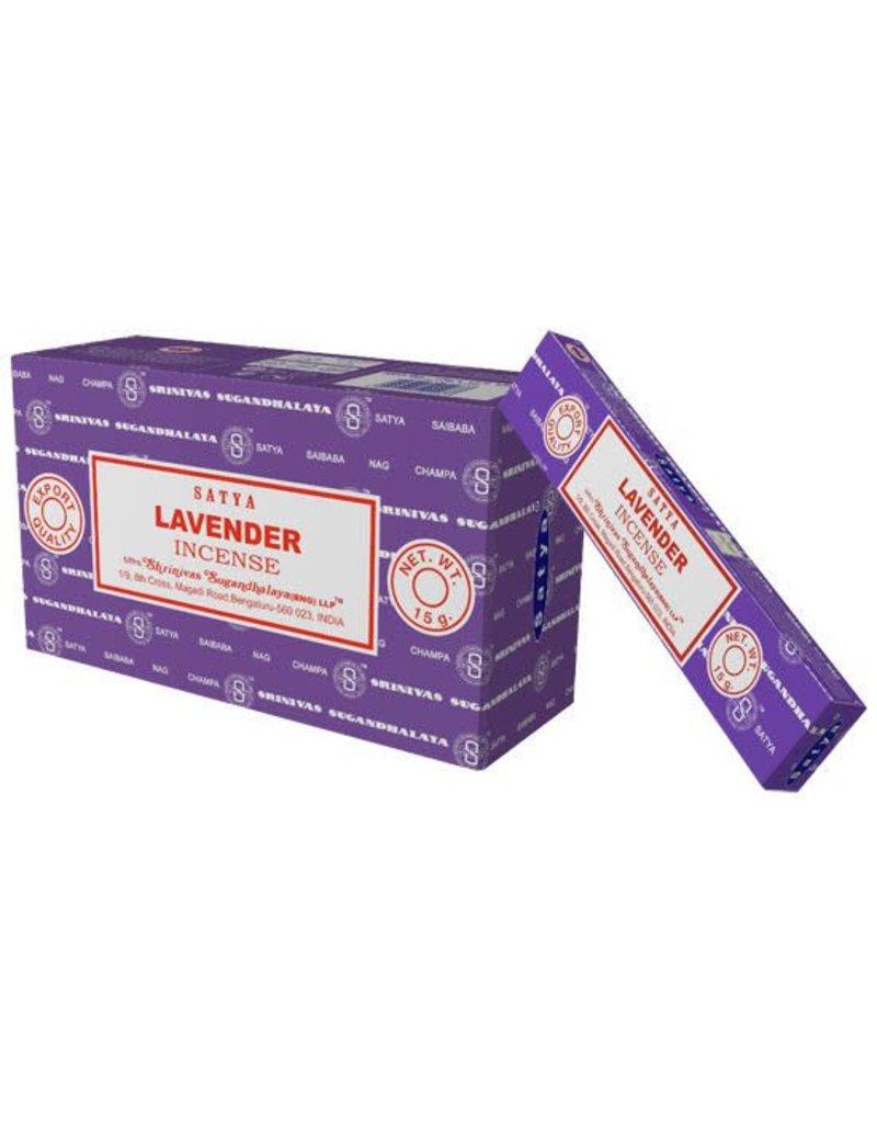 "Satya ""Lavender"" Incense - 15gm Box"