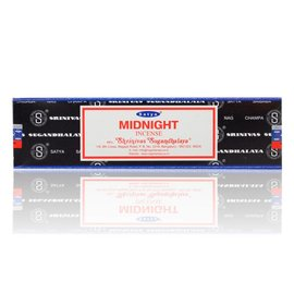 NAG15-MID: MIDNIGHT NAG CHAMPA INCENSE - 15GM BOX