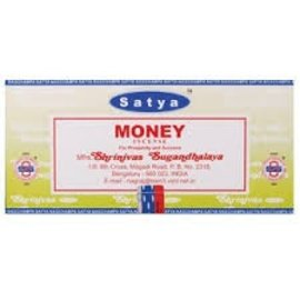 NAG15-MONEY: MONEY NAG CHAMPA INCENSE - 15GM BOX