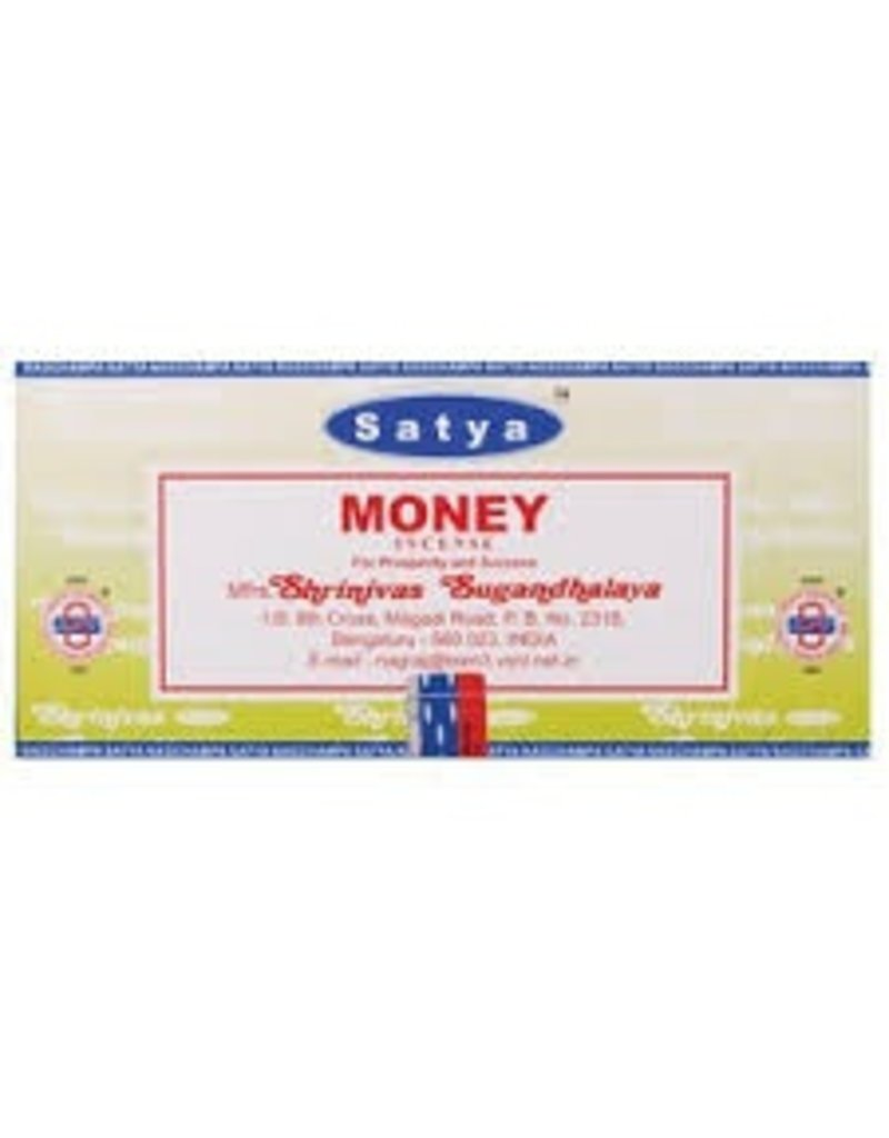 "Satya ""Money"" Incense - 15gm Box"
