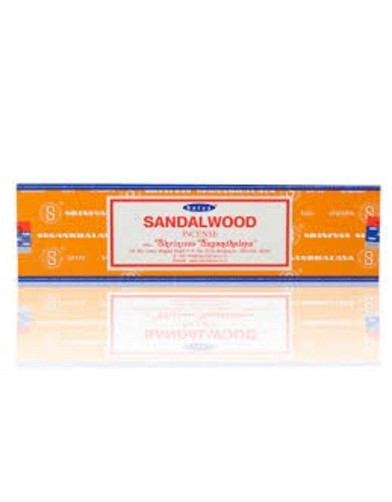 "Satya ""Sandalwood"" Incense - 15gm Box"