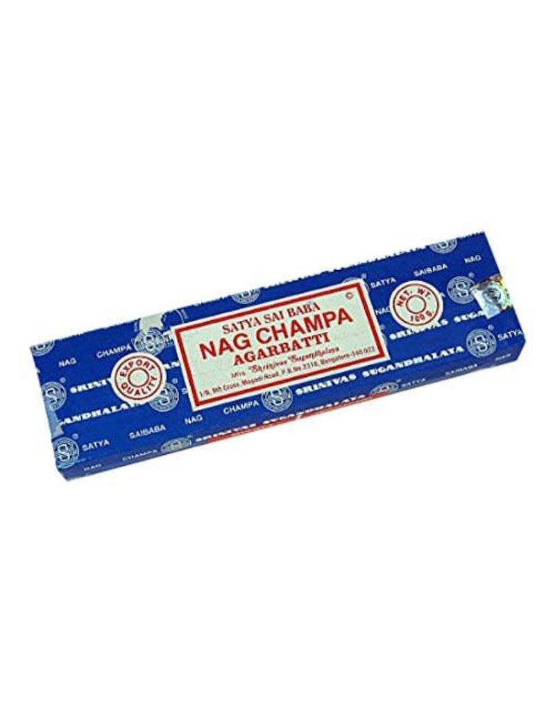 Satya Sai Baba Nag Champa Incense - 100gm Box