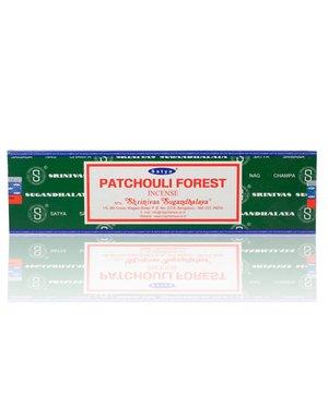 NAG15-PAT: PATCHOULI NAG CHAMPA INCENSE - 15GM BOX