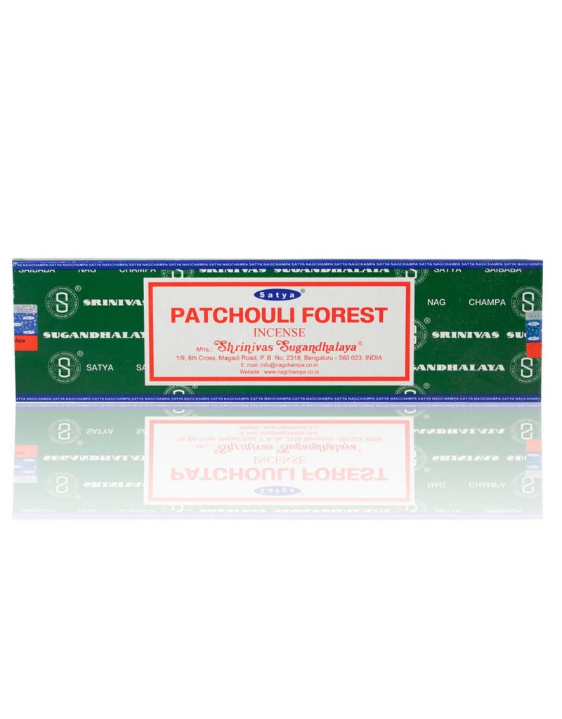 "Satya ""Patchouli"" Incense - 15gm Box"