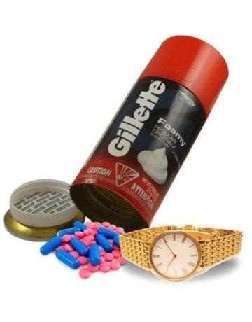 GILLETTE: GILLETTE SHAVE CREME- SAFE